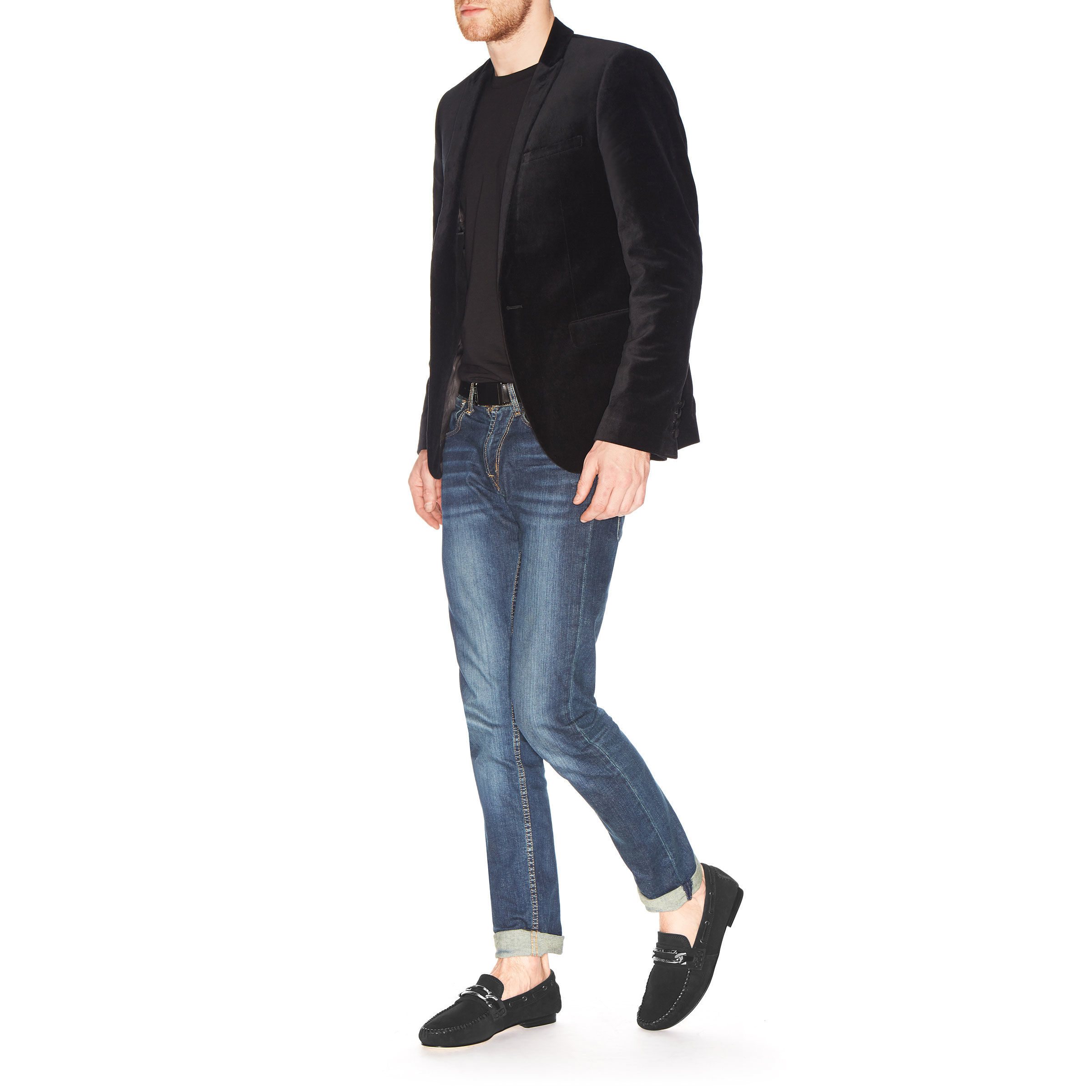 Lyst jimmy choo tristan in black for men for Jimmy choo mens shirts