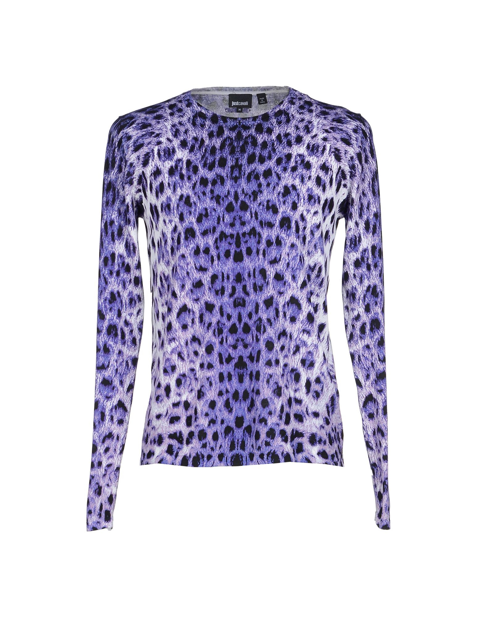 just cavalli sweater in purple lyst. Black Bedroom Furniture Sets. Home Design Ideas