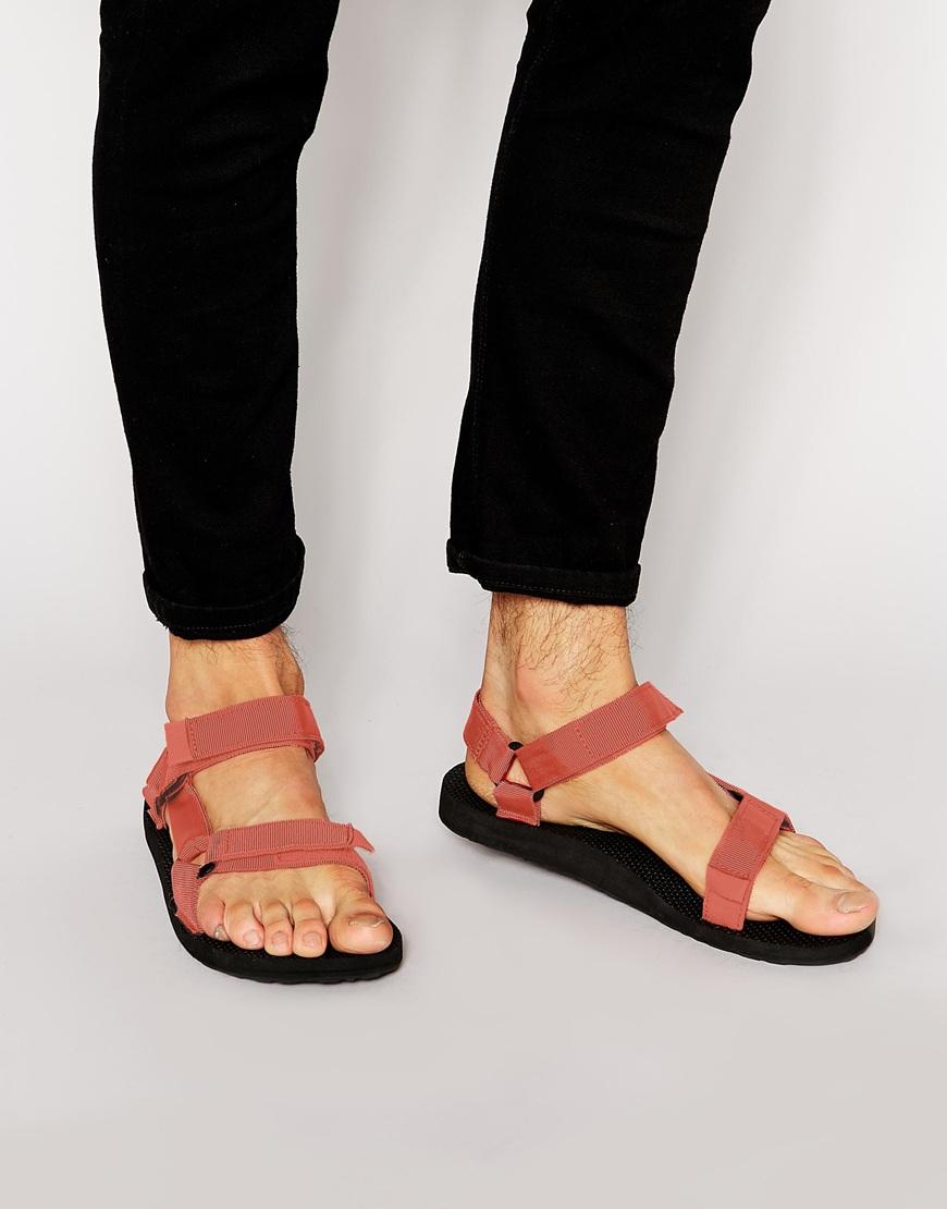 Lyst Teva Original Universal Sandals In Orange For Men