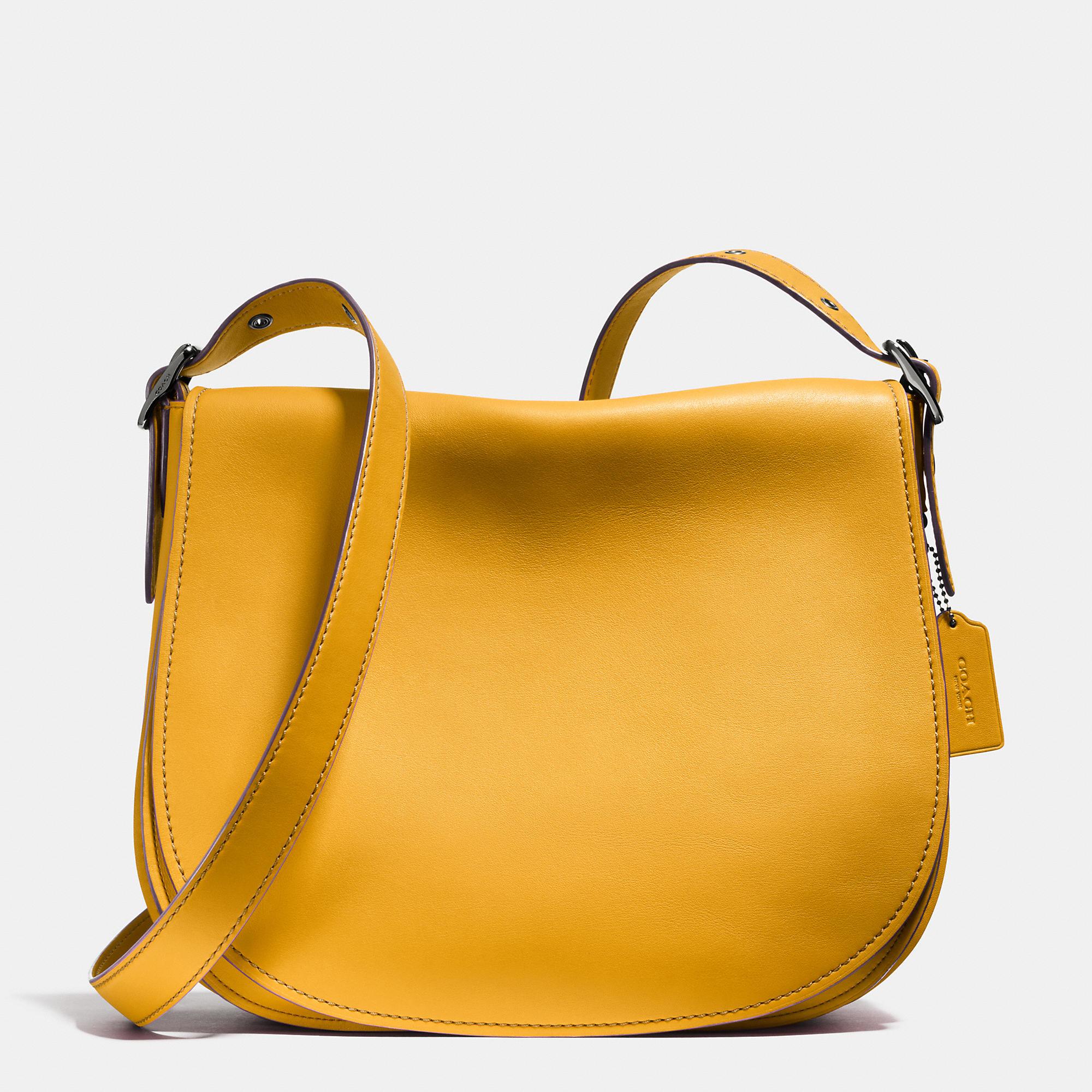 140975b72a66 coach glove tanned saddle bag