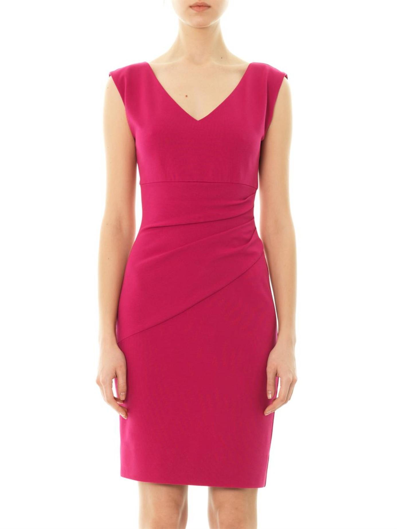 diane von furstenberg bevin dress in pink lyst. Black Bedroom Furniture Sets. Home Design Ideas
