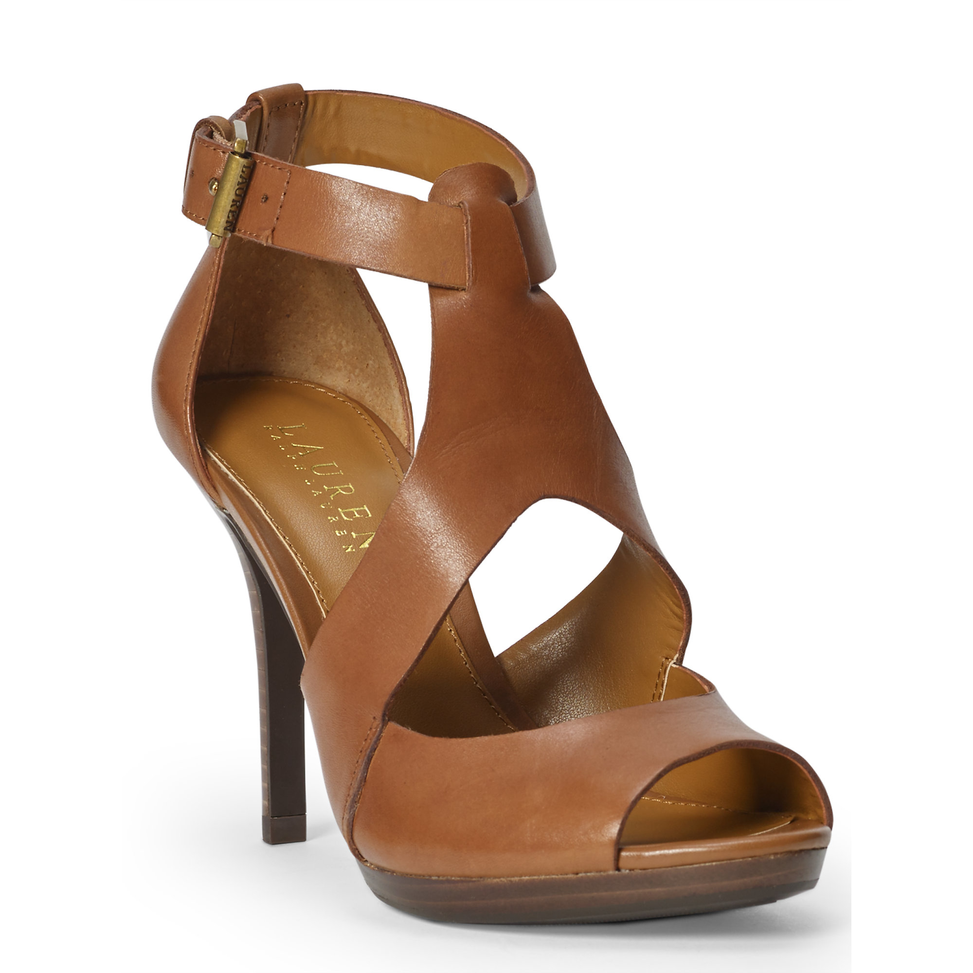 79ca754d29adc7 Lyst - Pink Pony Beth Leather Sandal in Brown
