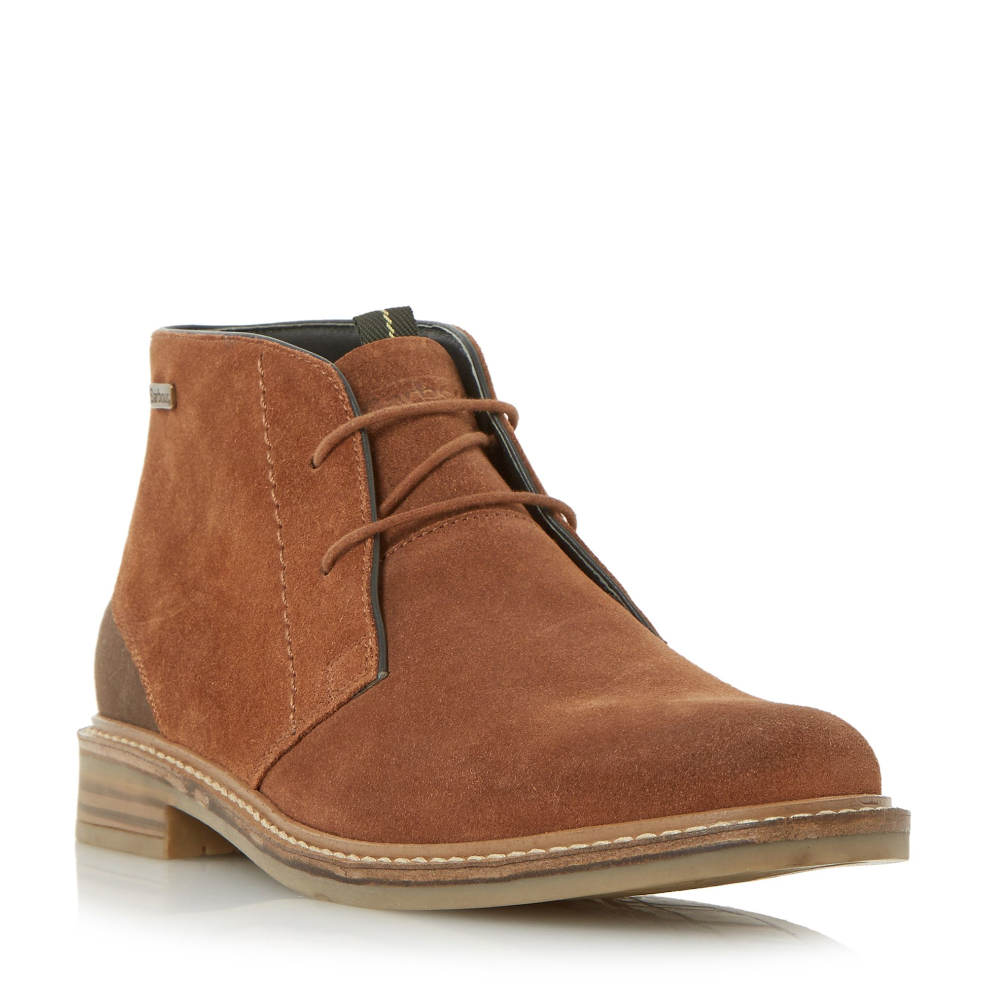 barbour readhead casual chukka boots in brown for lyst