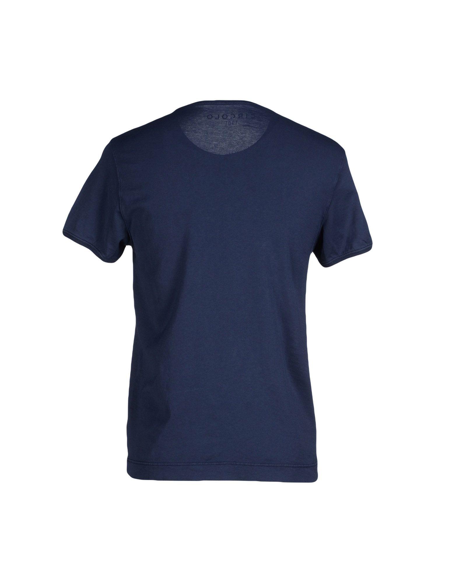 Circolo 1901 t shirt in blue for men dark blue lyst for T shirt dark blue
