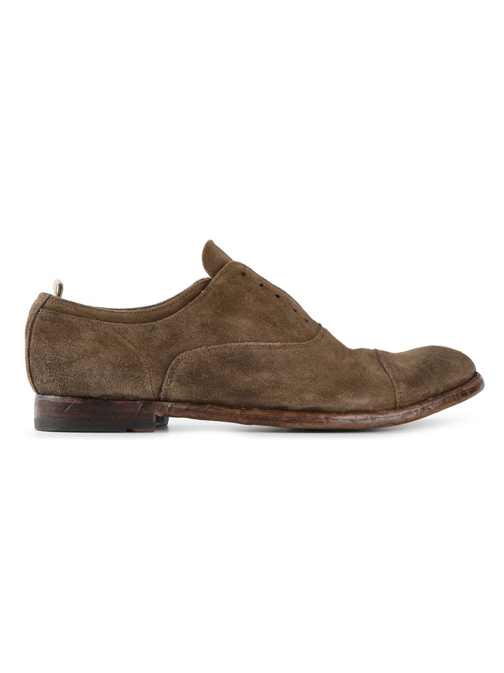 Officine Creative Anatomia Oxford Shoes In Green For Men | Lyst