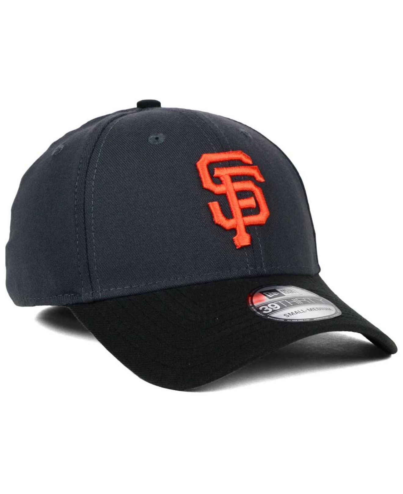 newest collection 8fdfd cf202 ... netherlands lyst ktz san francisco giants graphite team classic  39thirty cap f985e 3168a