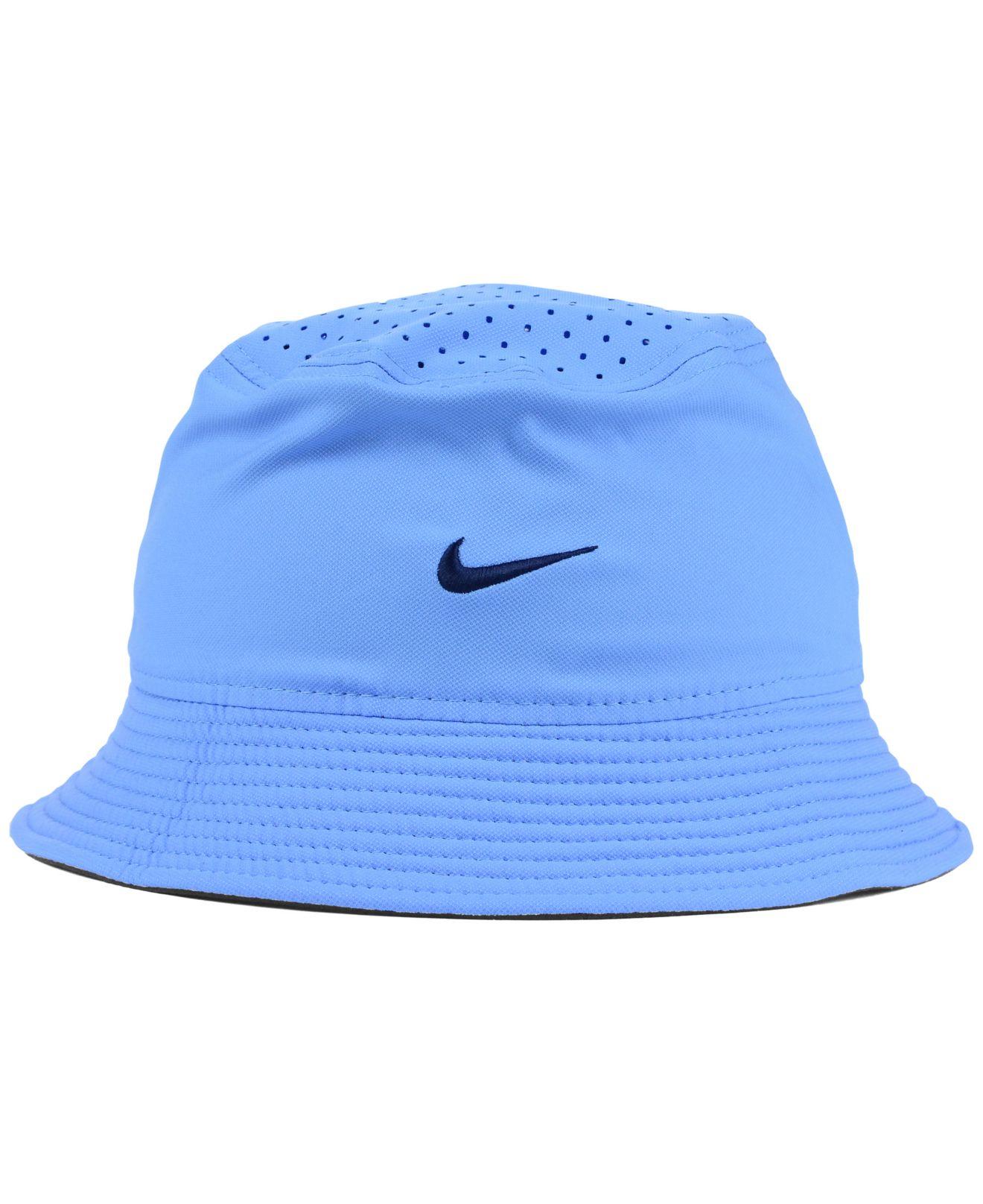 Lyst - Nike North Carolina Tar Heels Vapor Bucket Hat in Blue for Men 1f6f03f9d54