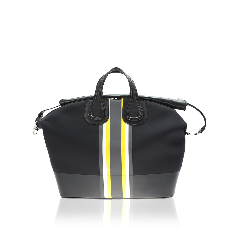 322d93670e77 Lyst - Givenchy Black Neoprene Nightingale Bag in Yellow for Men