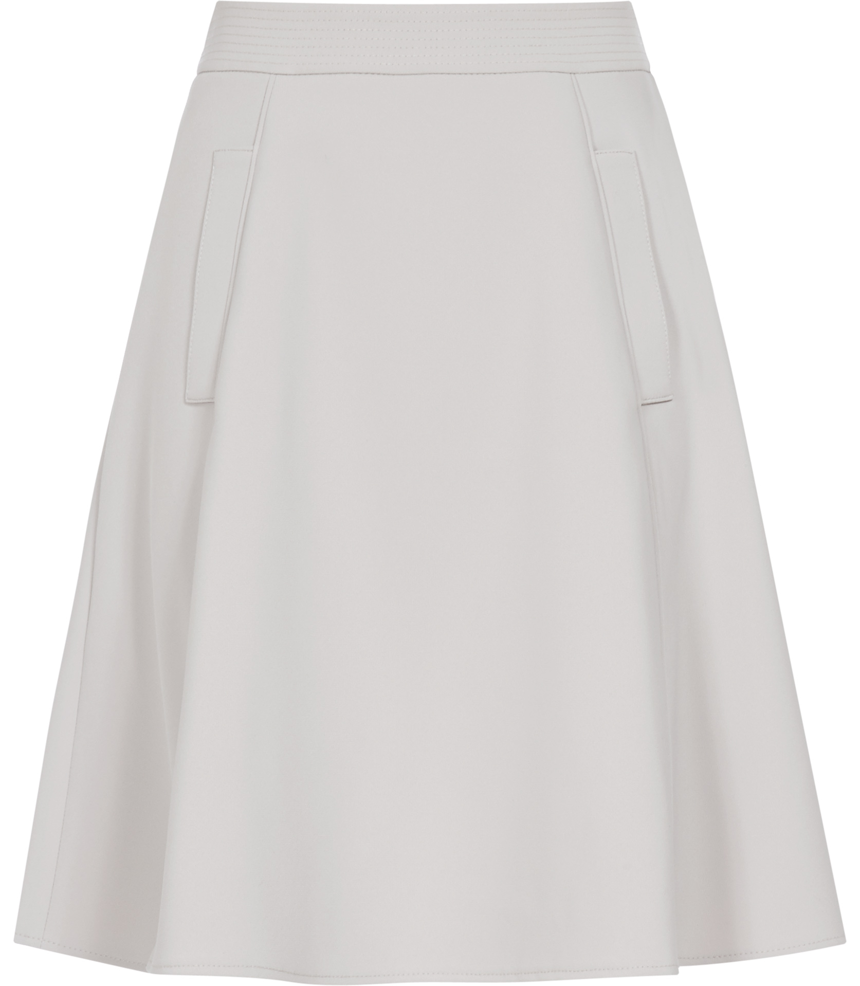 Grey A Line Skirt - Dress Ala