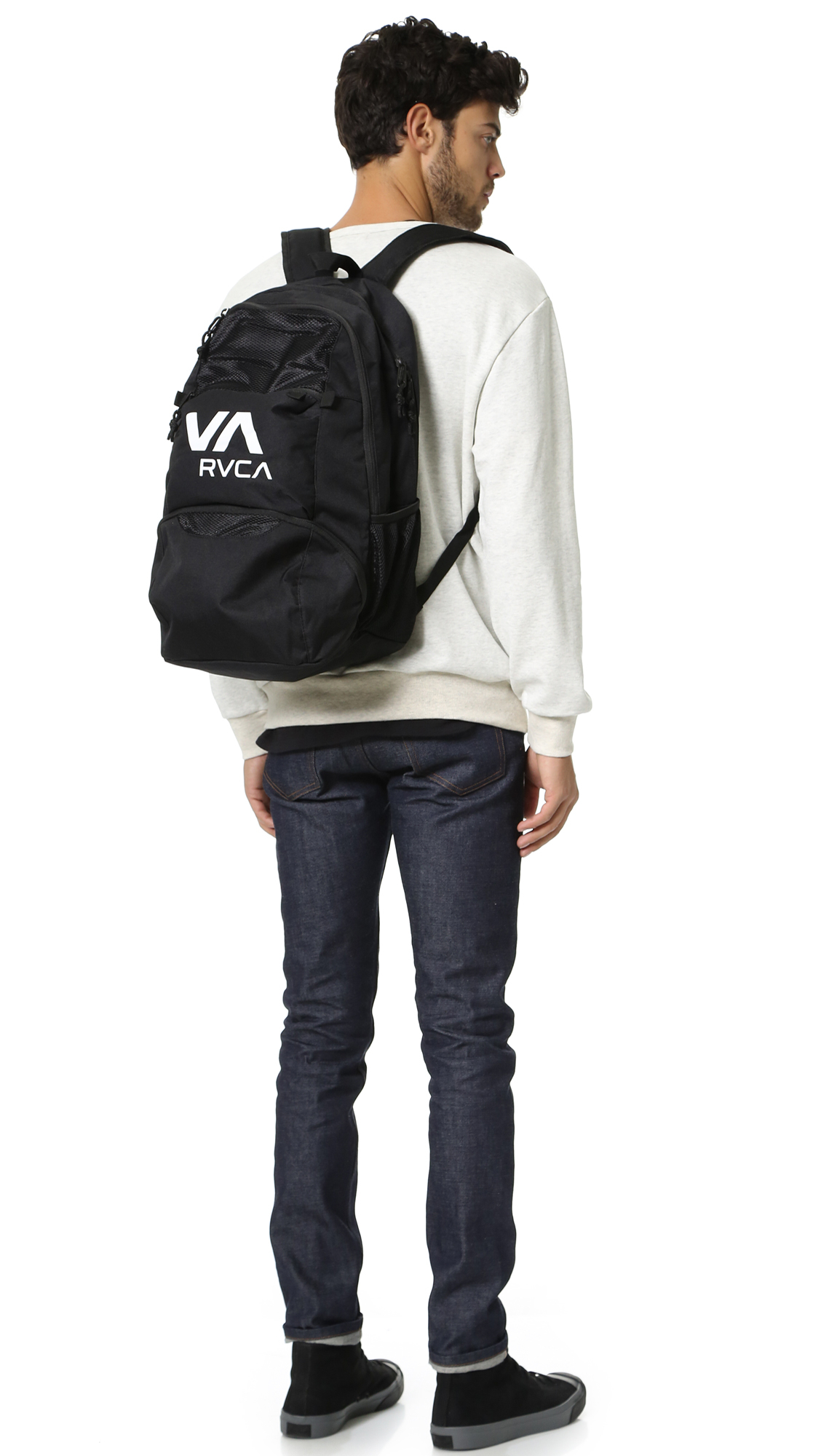 Lyst Rvca Century Training Backpack In Black For Men