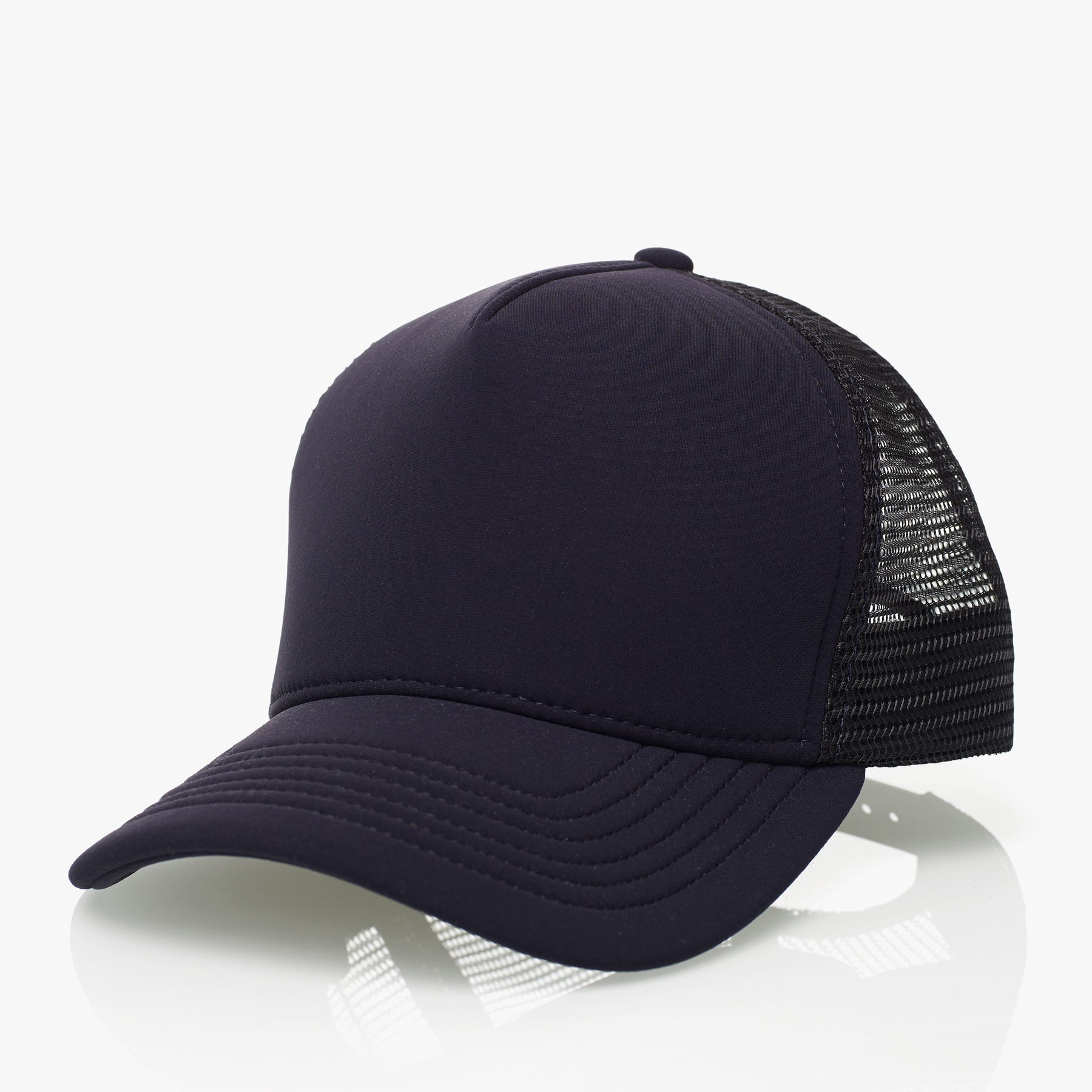 ... order lyst james perse scuba trucker hat in blue for men 39cb4 036da a3f618592a59