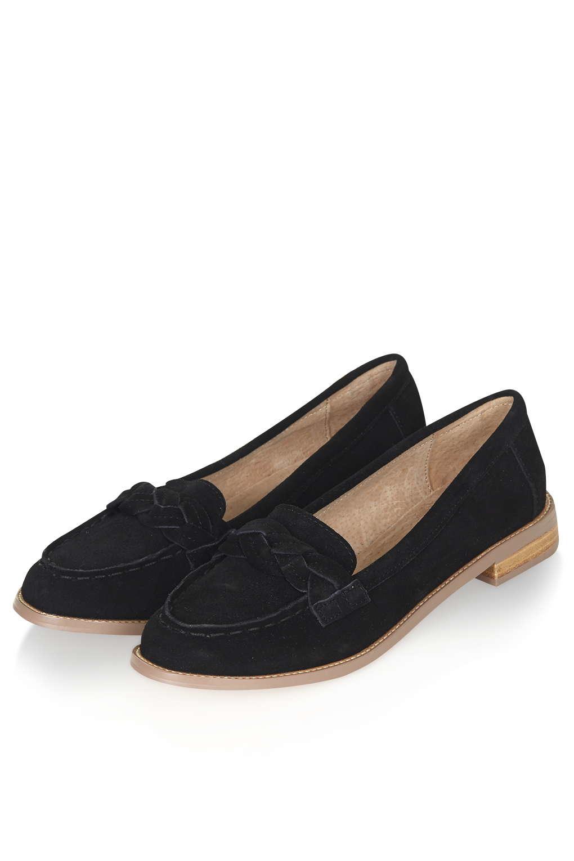 8cbd13a34d6 Lyst - TOPSHOP Livit Loafer in Black