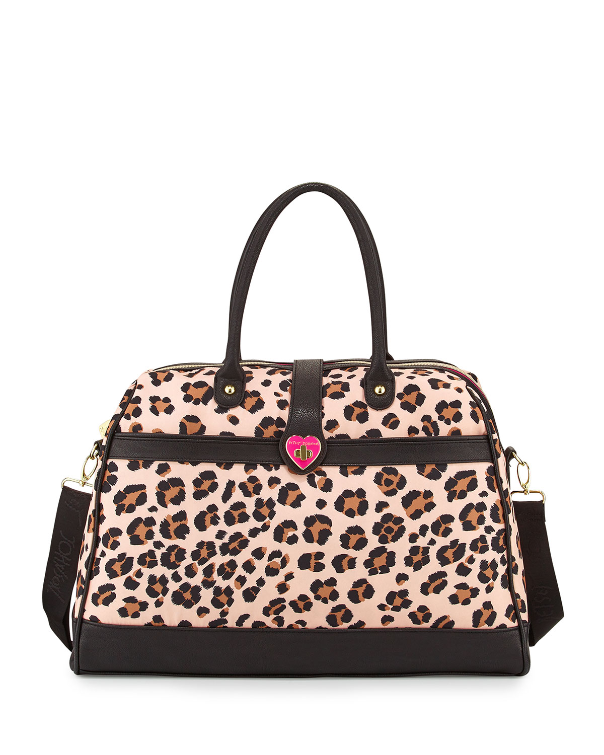 4b720fb25c Betsey Johnson - Multicolor Leopard-Print Weekender Bag - Lyst