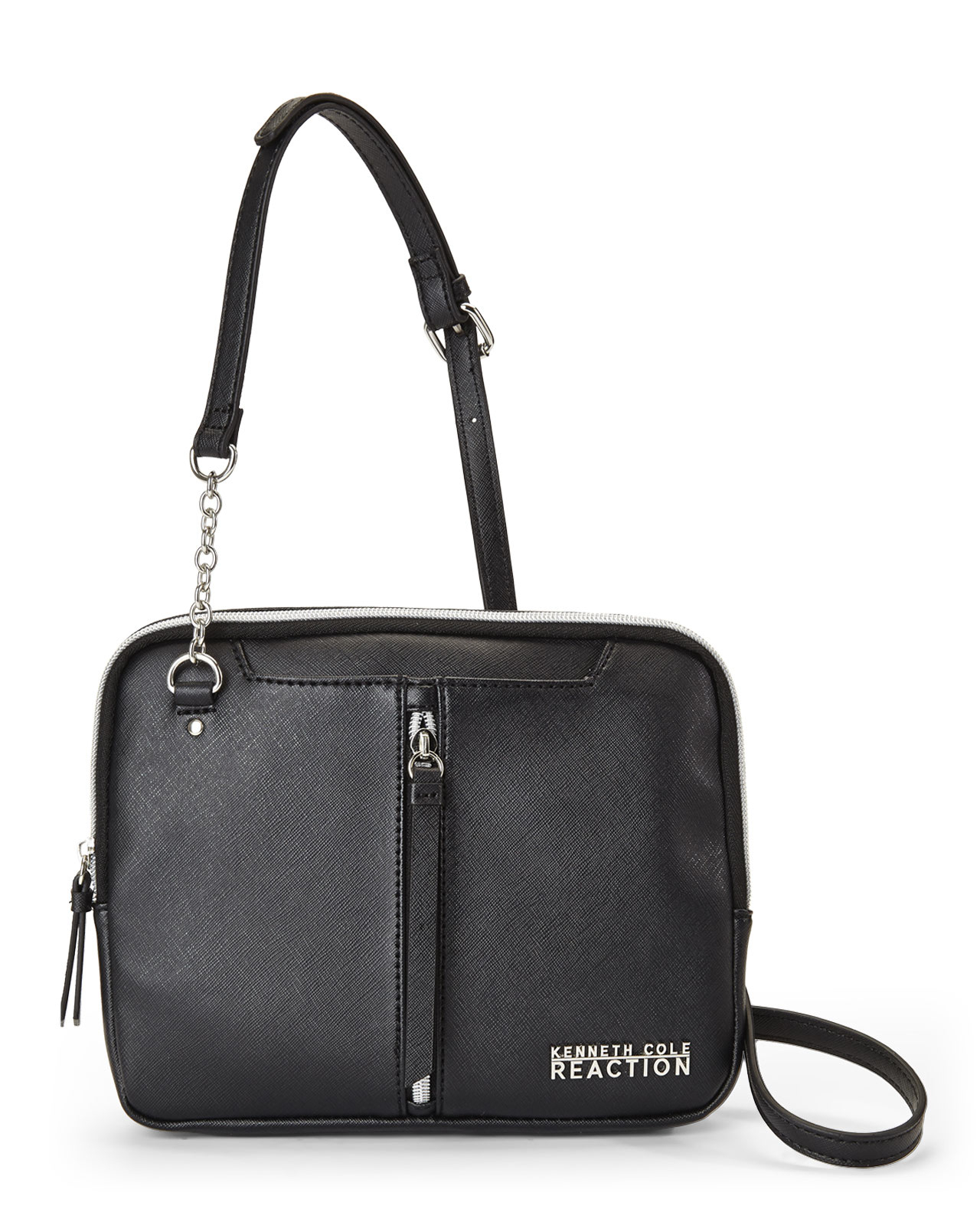 d3f90a2770 Lyst - Kenneth Cole Reaction Black Sequel Crossbody in Black