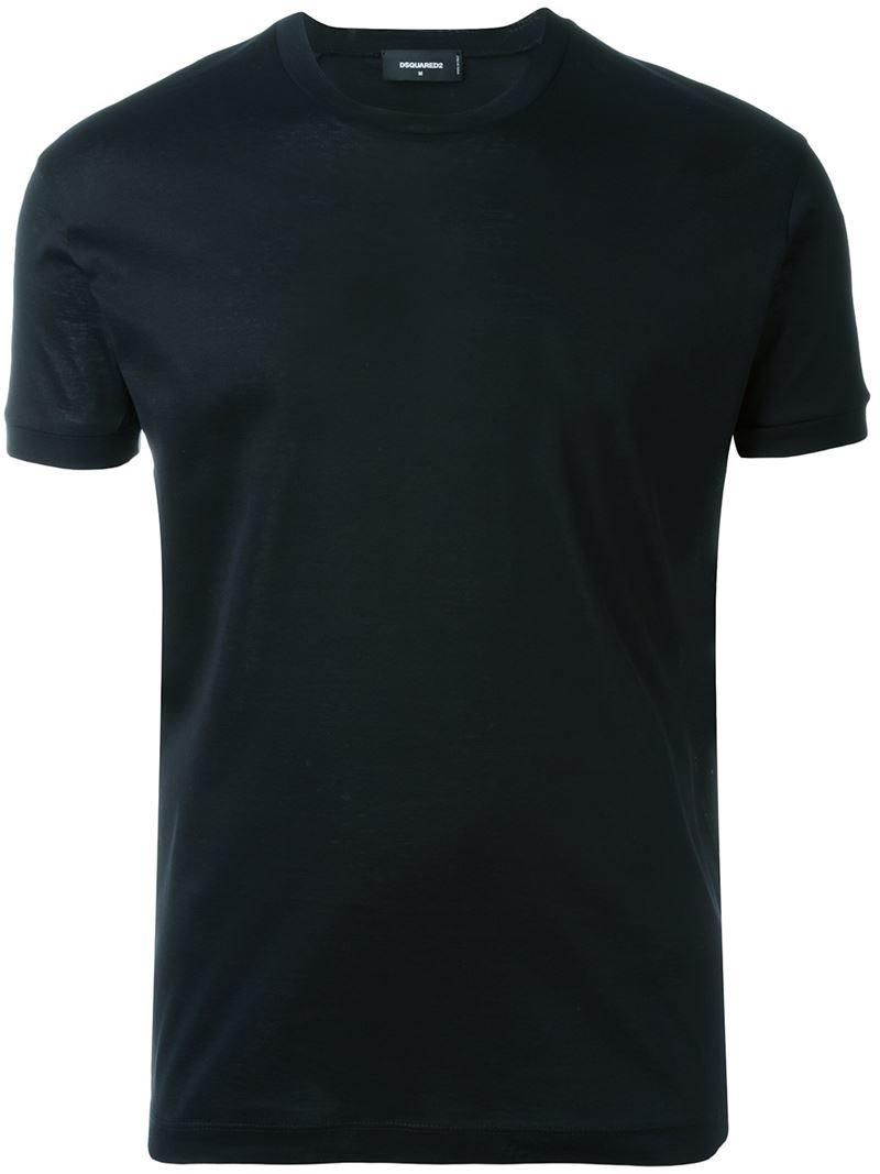 dsquared slim fit t shirt in black for men lyst. Black Bedroom Furniture Sets. Home Design Ideas