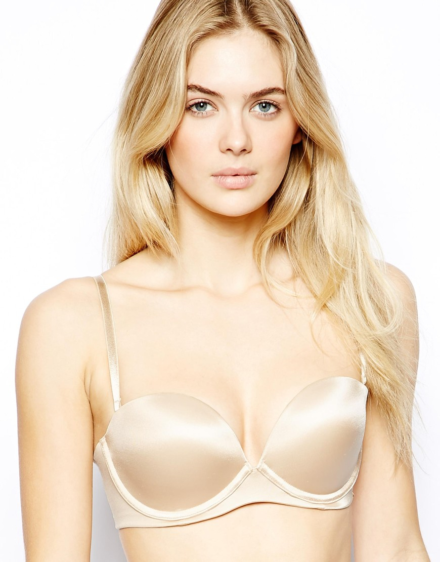 1cc9315a1d6aa Lyst - Ultimo Miracle Gel Boost Strapless Bra in Natural