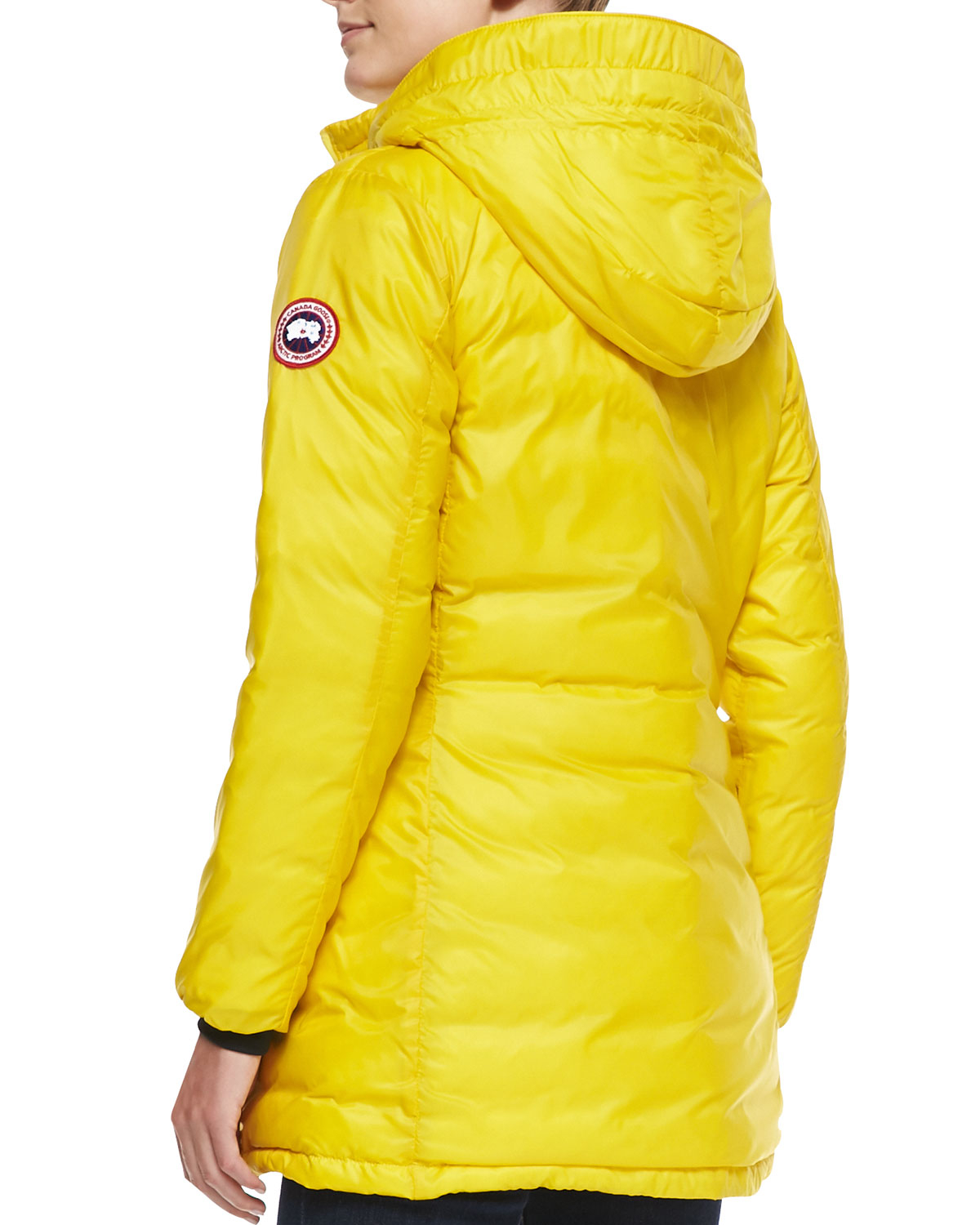 Women S Canada Goose Pbi Camp Packable Hooded Down