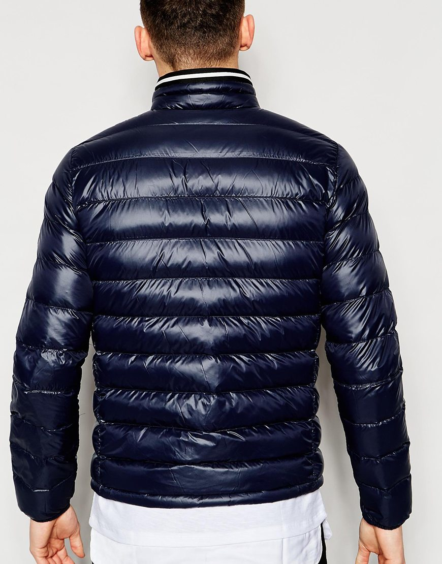 G Star Raw Quilted Jacket Revend Down Filled Nylon Zipthru