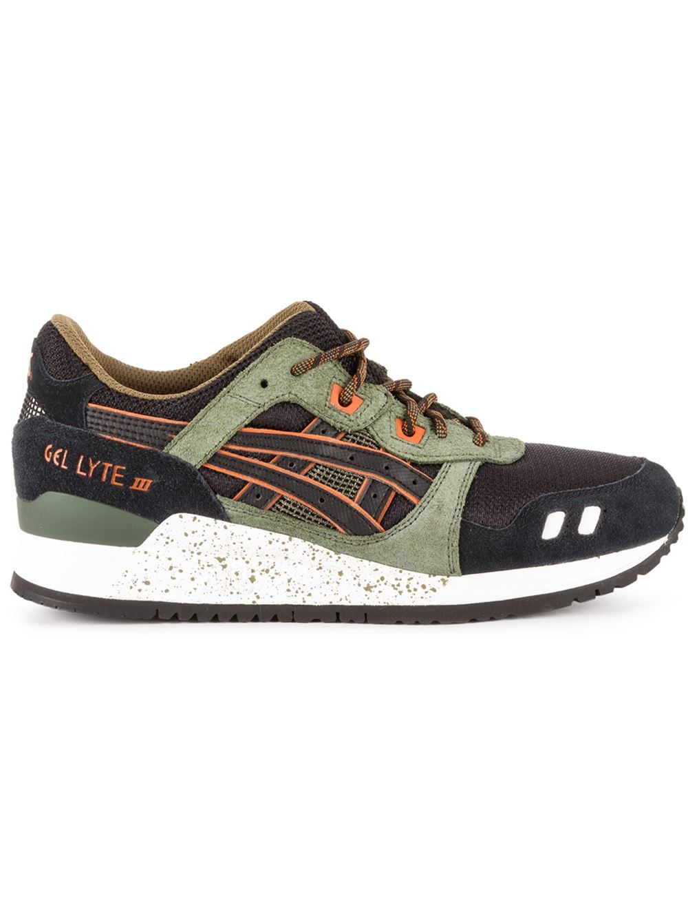 asics 39 gel lyte 3 39 sneakers in black lyst. Black Bedroom Furniture Sets. Home Design Ideas
