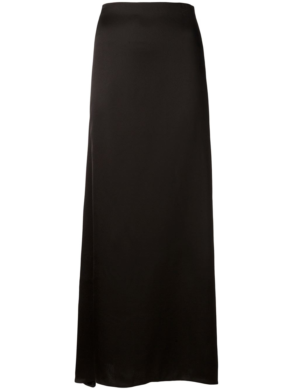 the row a line maxi skirt in black lyst