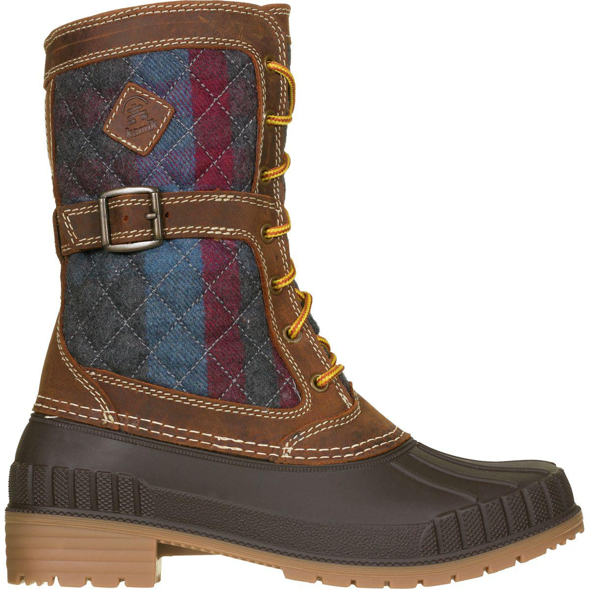 Kamik Sienna Comfort Boots Womens Dark Brown Special Sales