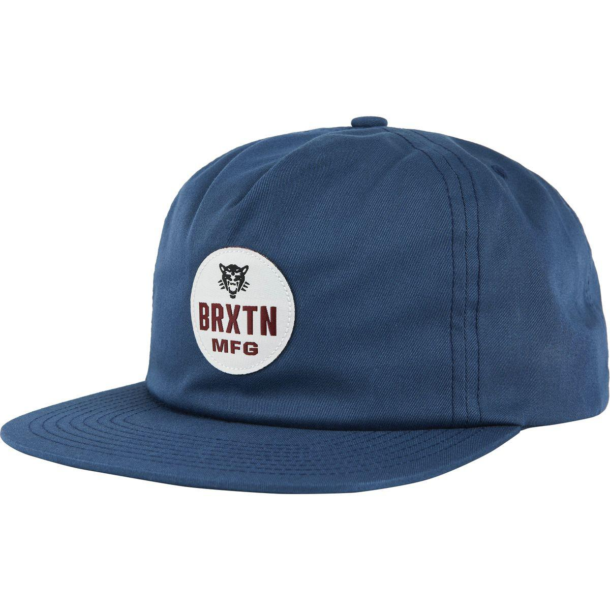 Lyst - Brixton Panther Hp Snapback Hat in Blue for Men ab9d8531605f