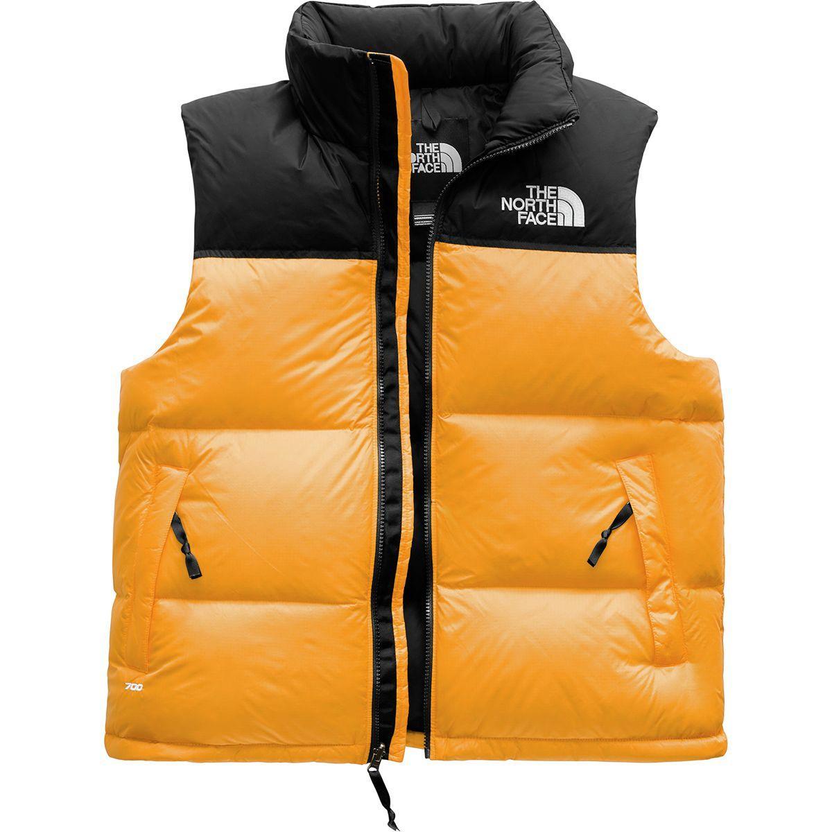 731319ba3c Lyst - The North Face 1996 Retro Nuptse Vest in Orange for Men