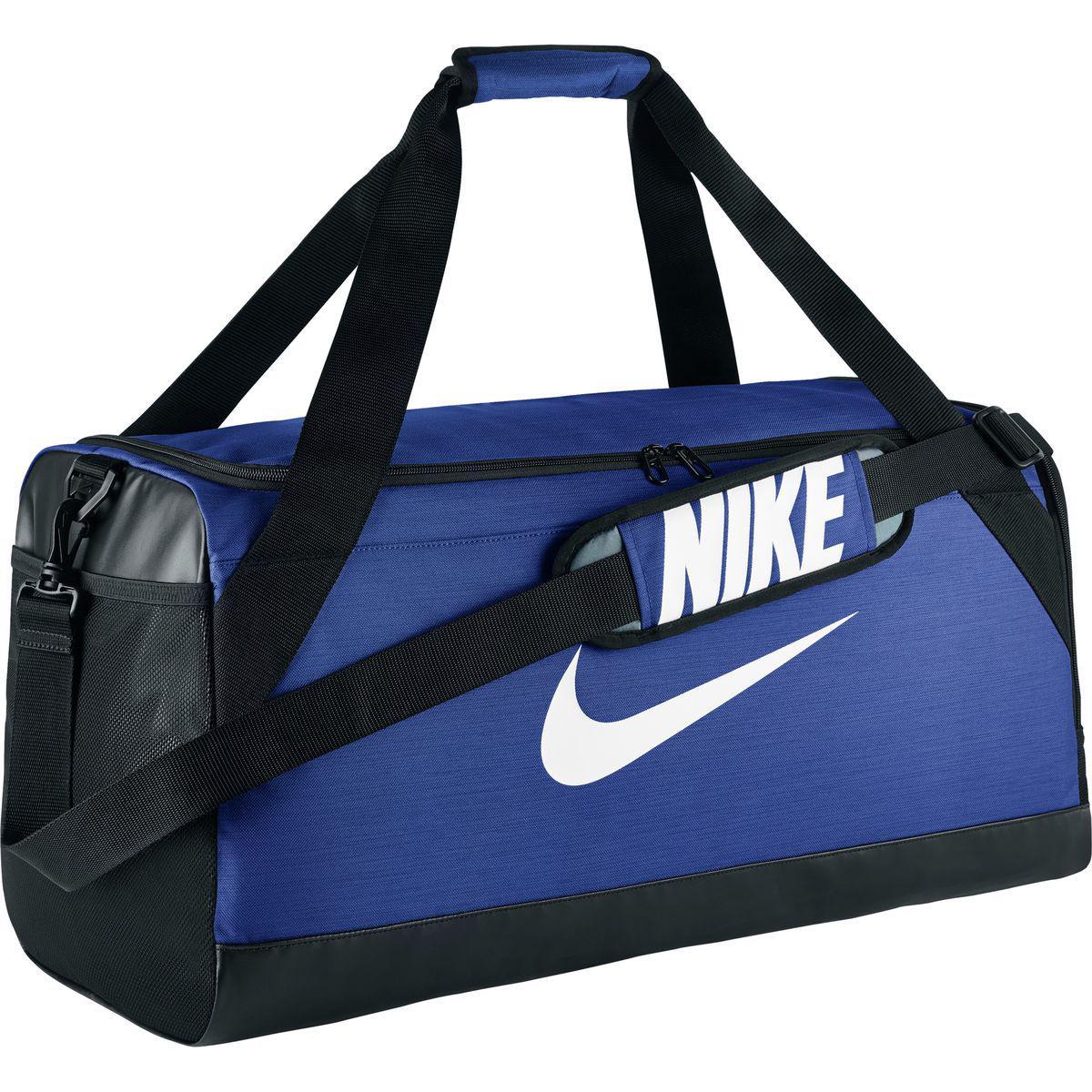 1e98c5120a Lyst - Nike Brasilia Medium Duffel Bag (game Royal black white ...