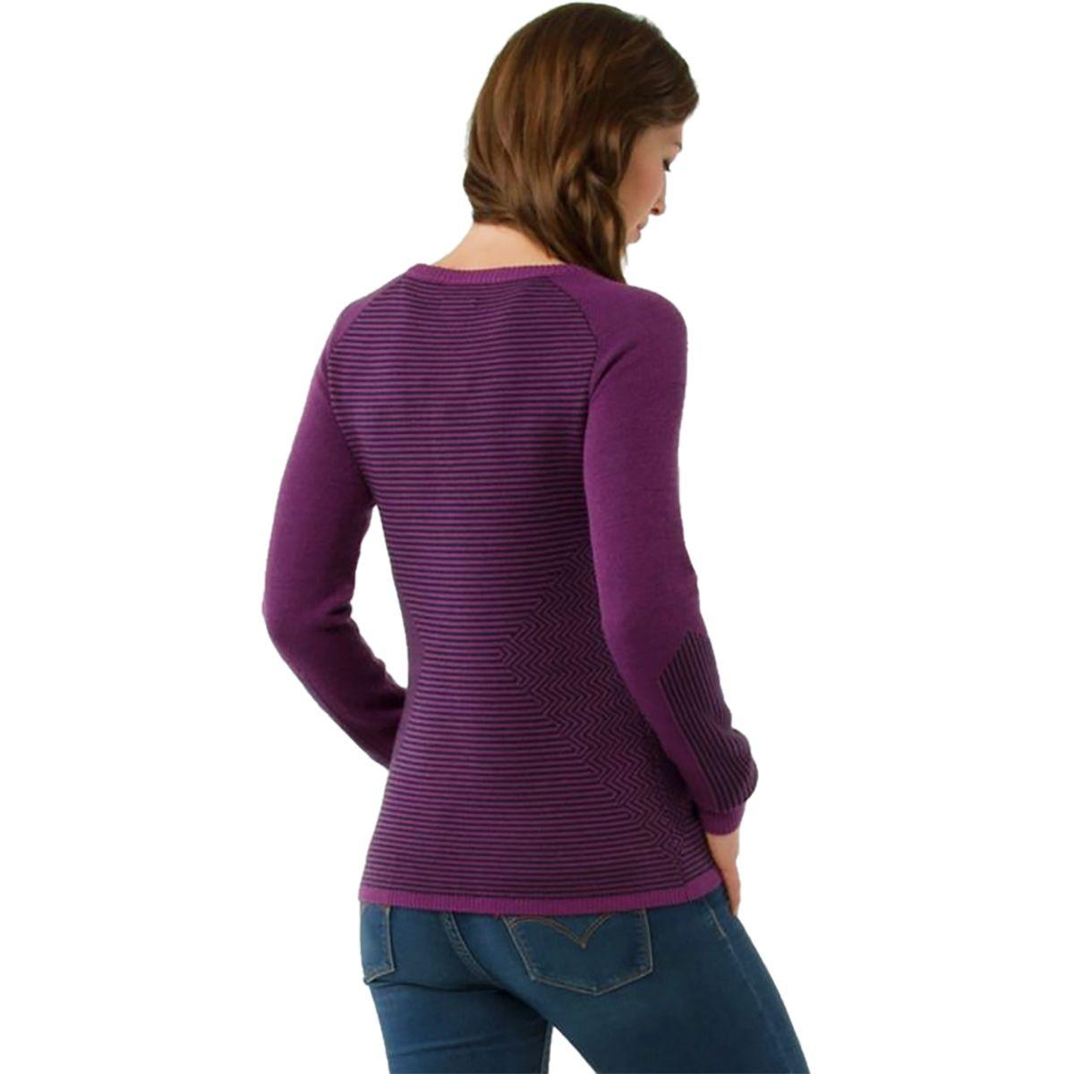 3f29e52124368b Smartwool - Purple Dacono Ski Crew Sweater - Lyst. View fullscreen