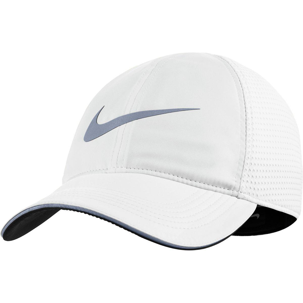 19c811ae3e39c Nike Aerobill Heritage Elite Running Hat in White for Men - Lyst