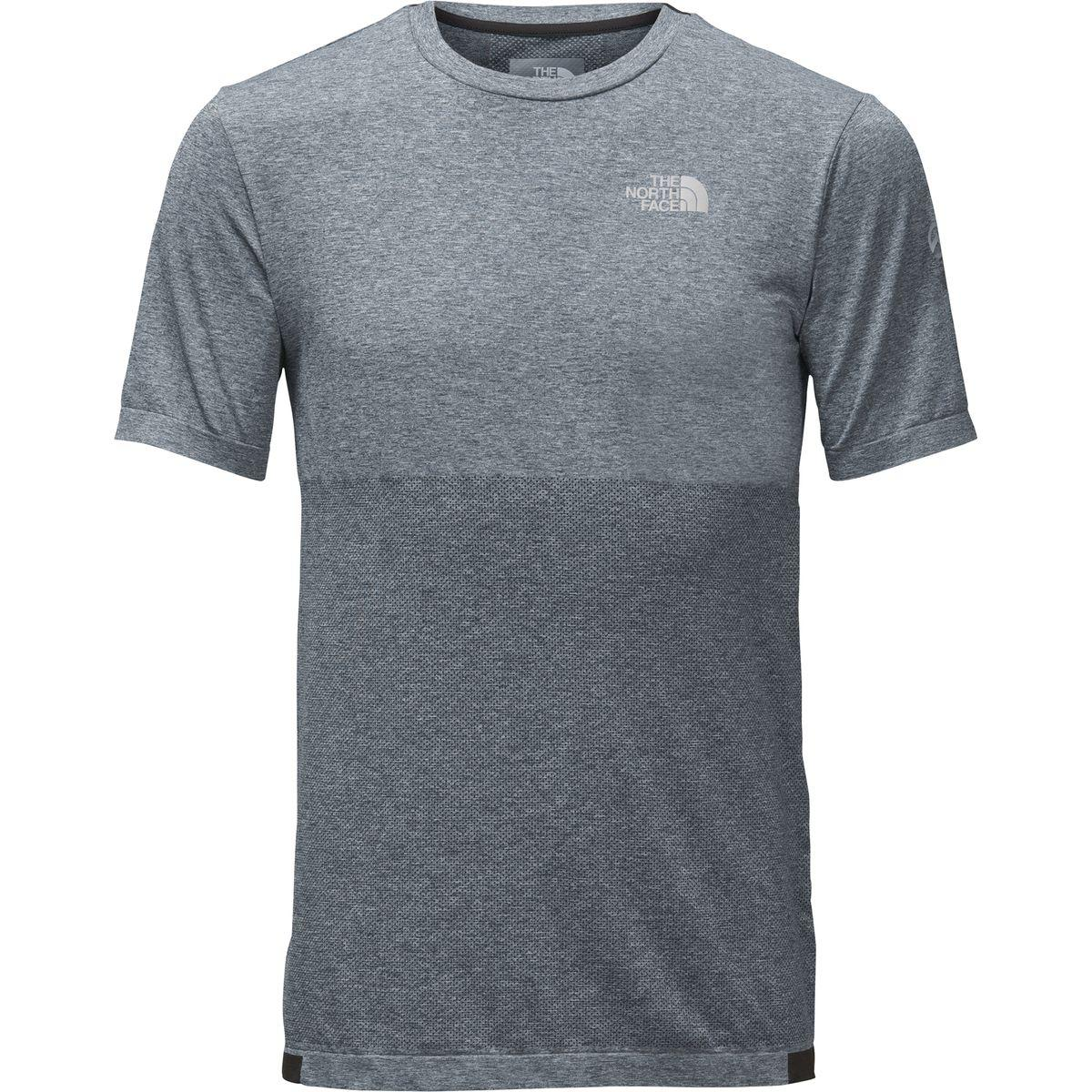 01d6eba6 The North Face - Gray Summit L1 Engineered Short-sleeve Top for Men - Lyst.  View fullscreen