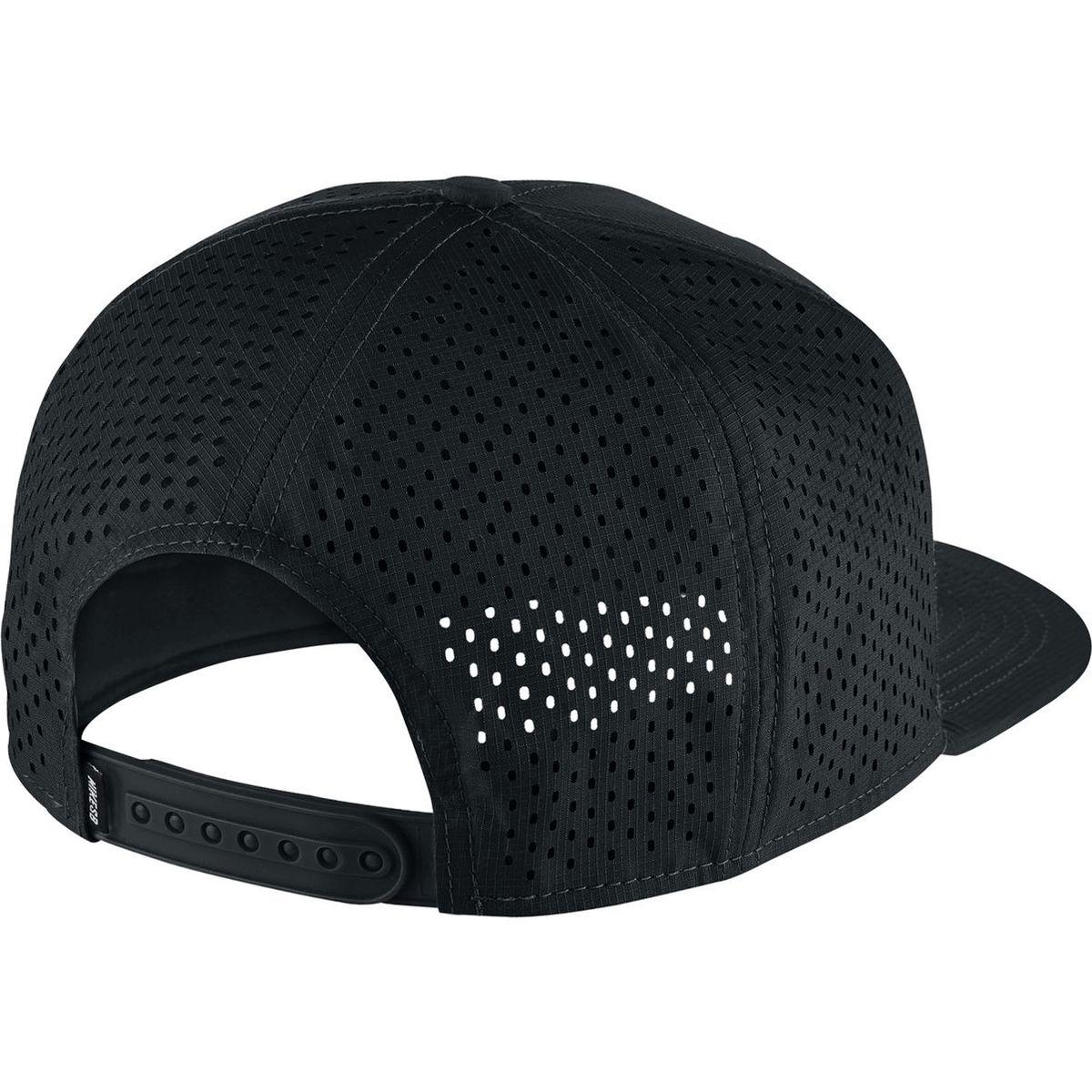 3043d21159896 ... clearance lyst nike sb aero pro cap in black for men b4271 affef