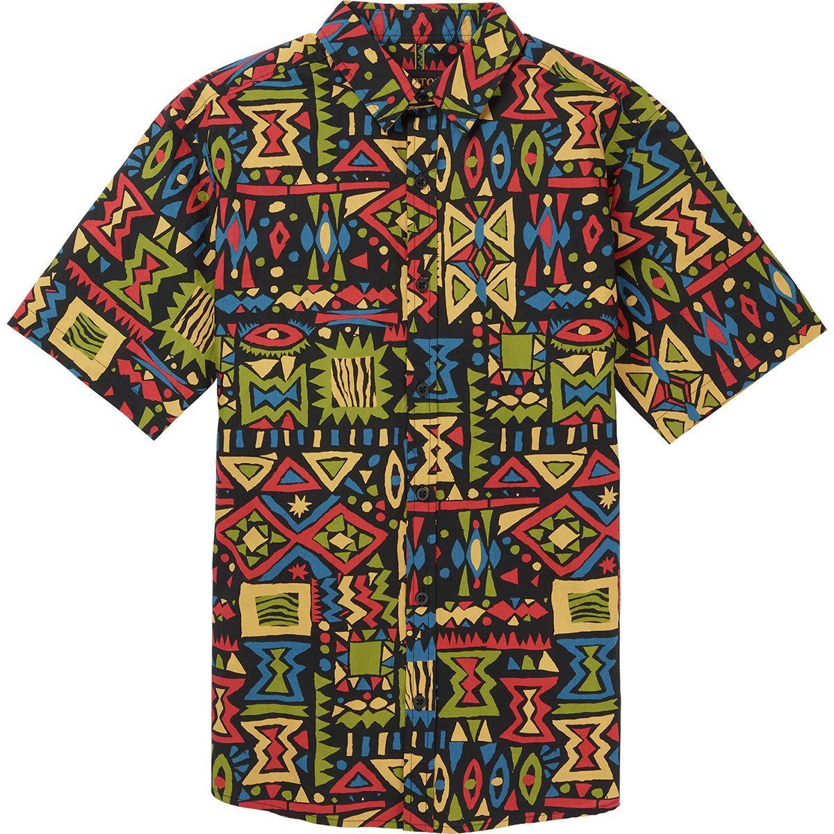 0f30bb237c07c Burton Shabooya Camp Short-sleeve Shirt for Men - Lyst
