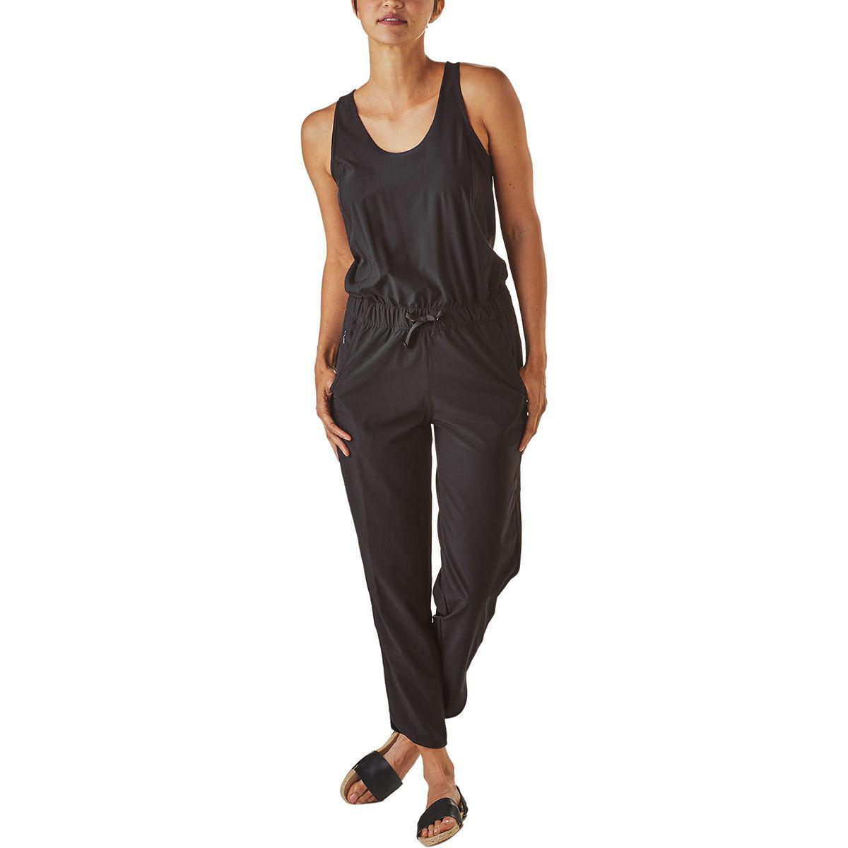 9922a927e07 Lyst - Patagonia Fleetwith Romper in Black