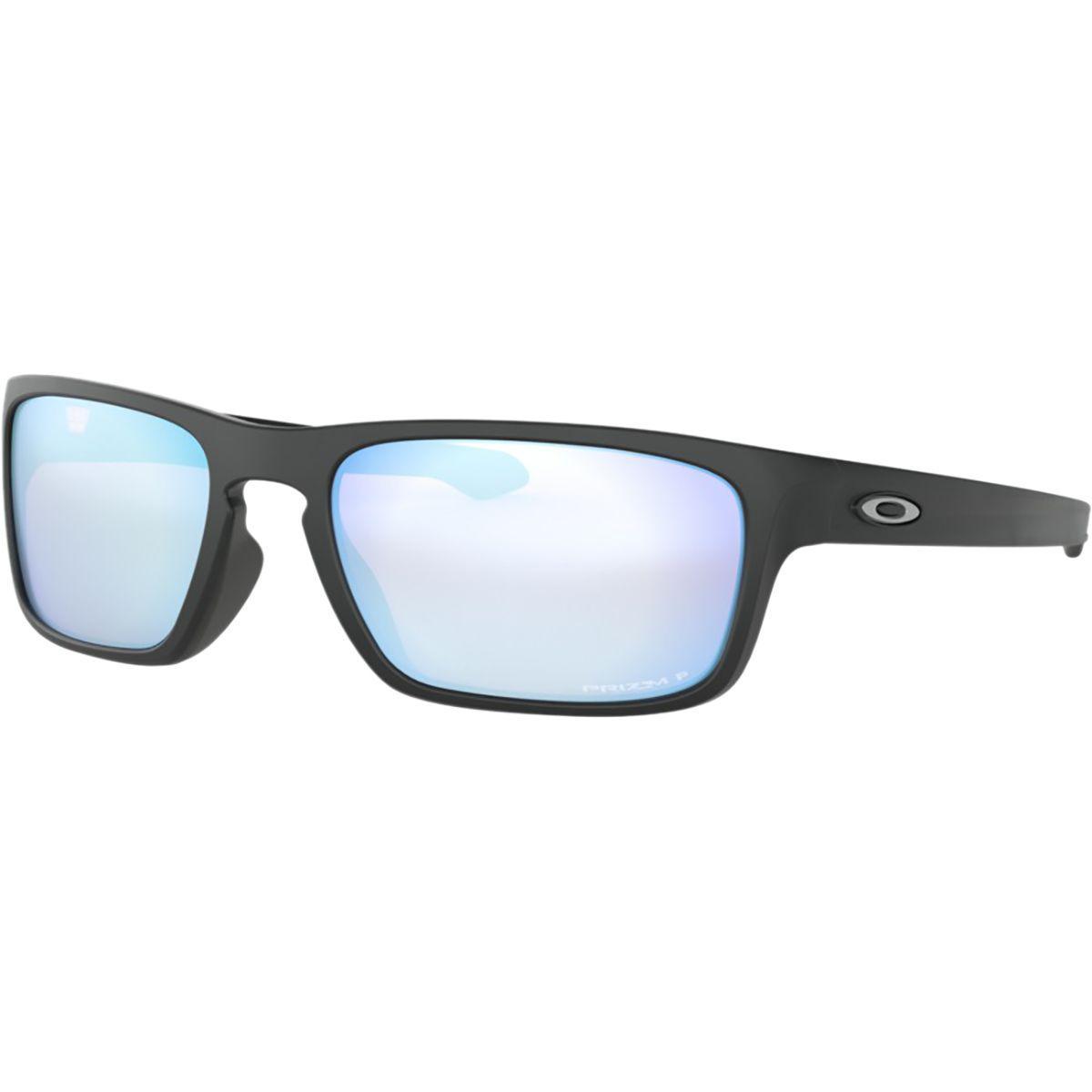 2c8c78ccae Lyst - Oakley Sliver Stealth Prizm Polarized Sunglasses in Black for Men