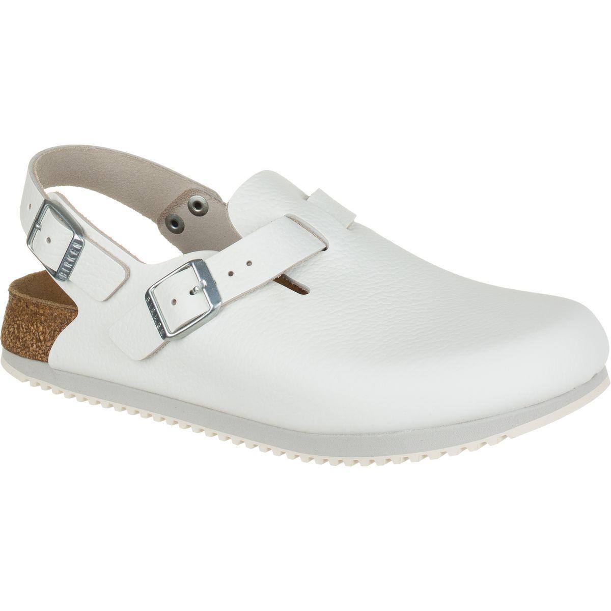 4ba0f77e3bf4 Lyst - Birkenstock Tokyo Super Grip Narrow Shoe in White