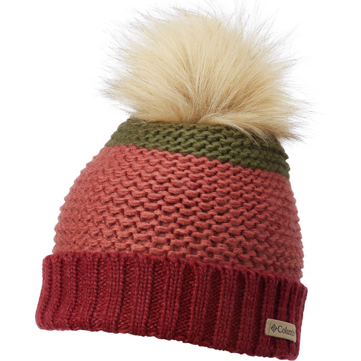 d2c52a5fae351 Lyst - Columbia Holly Peak Pom Pom Beanie in Red for Men