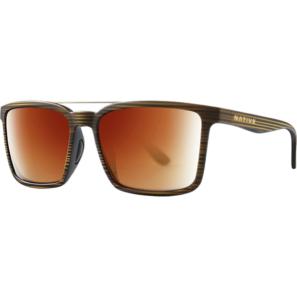 d0db0d5828 Lyst - Native Eyewear Four Corners Polarized Sunglasses in Brown for Men