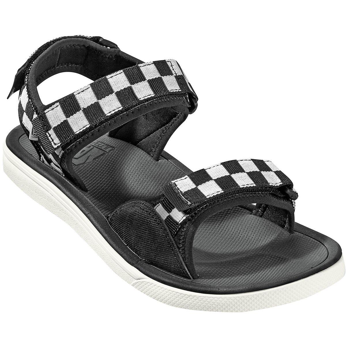 2e10692931ea Lyst - Vans Checker Ultrarange Tri-lock Sandals in Black for Men ...