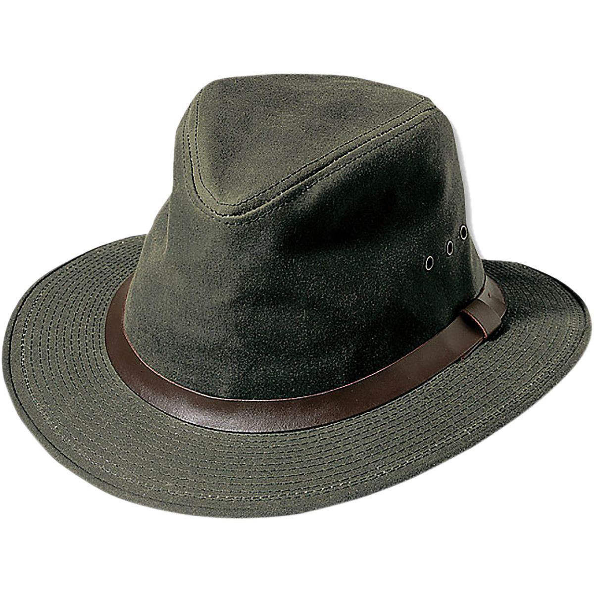 029d0fa3a Filson Shelter Cloth Packer Hat in Green for Men - Lyst