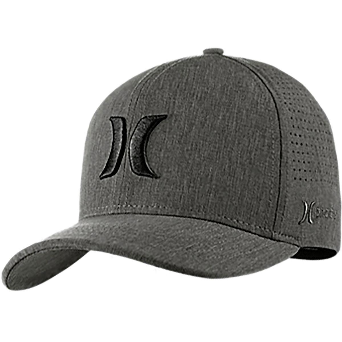 a6c2ed7cdd8e1 ... shop lyst hurley phantom vapor 3.0 hat in black for men 3bd69 9f684