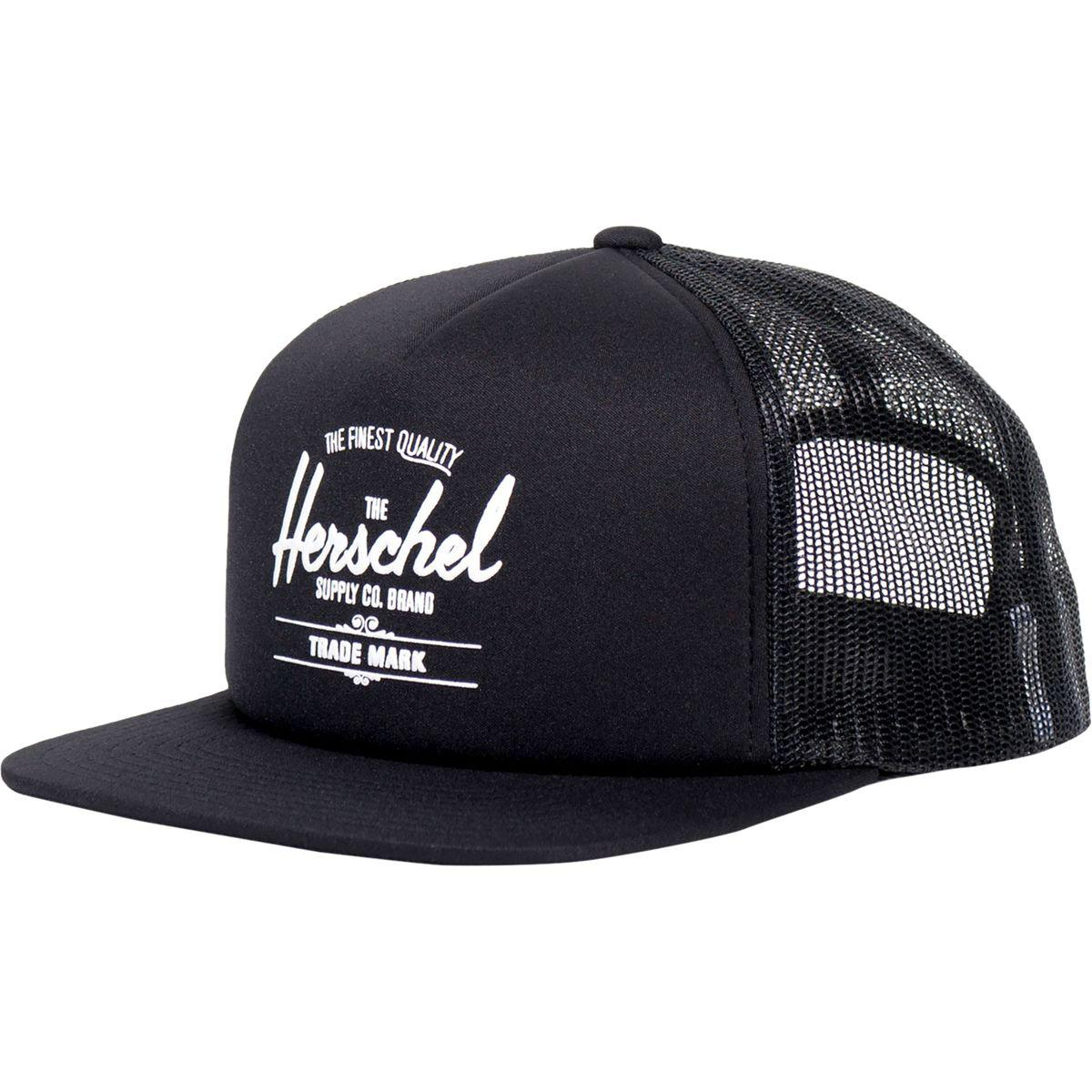 Lyst - Herschel Supply Co. Whaler Mesh Trucker Hat in Black for Men 7c9218038b0d