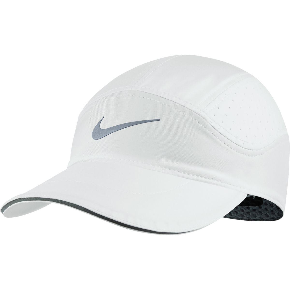 9a7bd8dffb6ba Lyst - Nike Aerobill Elite Running Hat in White for Men