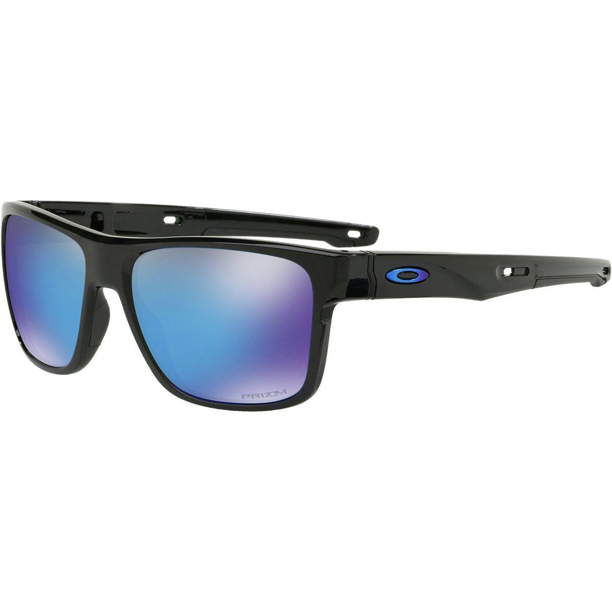fe4a12e3e0 Lyst - Oakley Crossrange Prizm Sunglasses in Black for Men