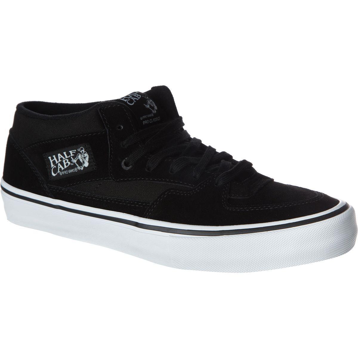 9f9e0337a6 Vans - Black Half Cab Pro Skate Shoe for Men - Lyst. View fullscreen