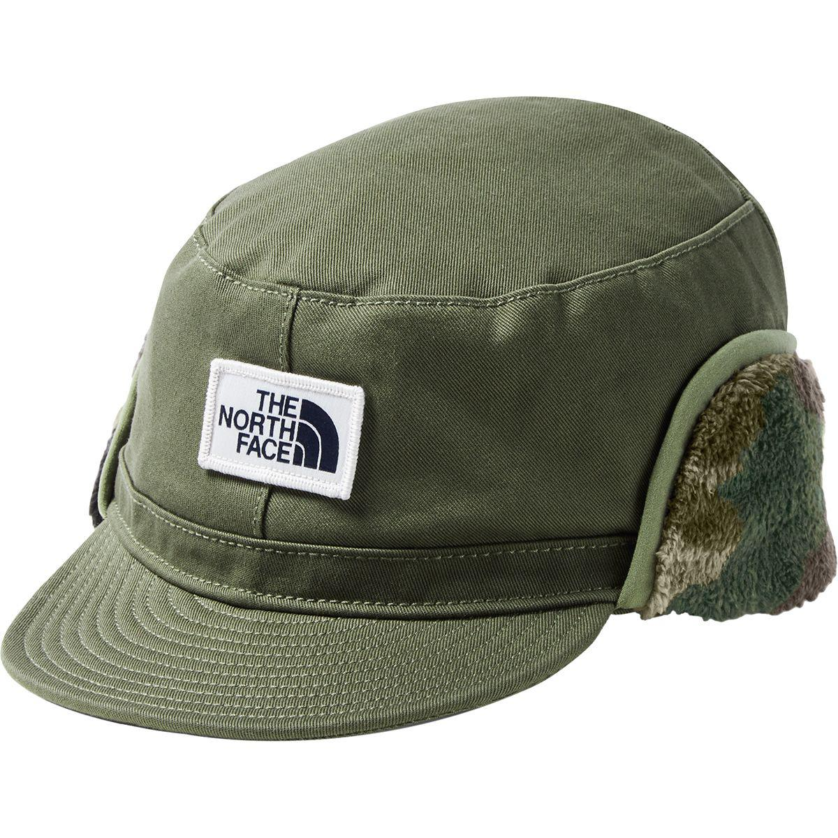 Lyst - The North Face Campshire Earflap Cap in Green for Men - Save 34% 1271f44a0b4e
