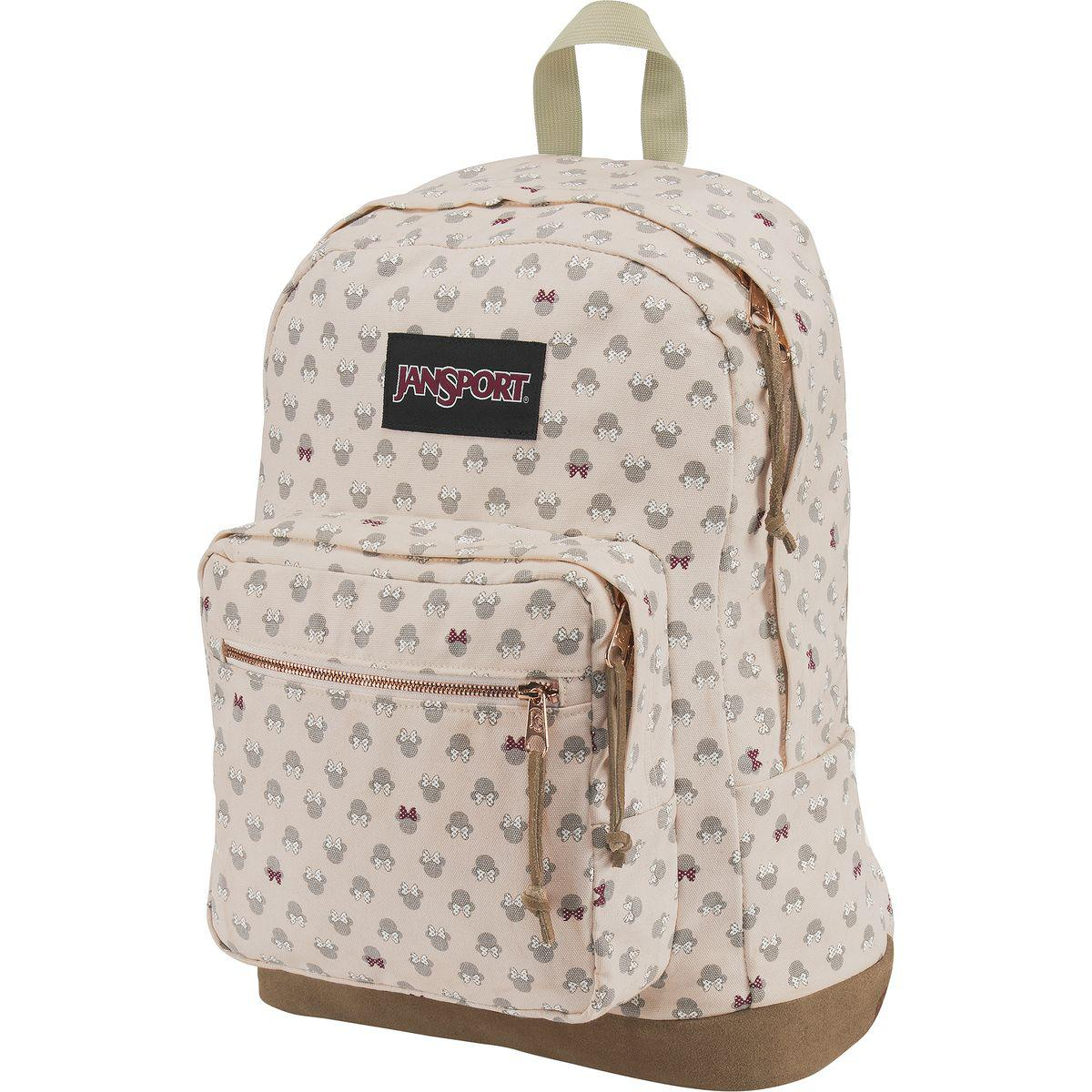 63ec71e09 Jansport Disney Right Pack Luxe Minnie Expressions 31l Backpack - Lyst