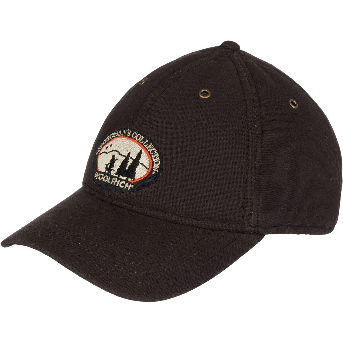 ab9fd2f9 Woolrich Oil Cloth Baseball Cap in Brown for Men - Lyst