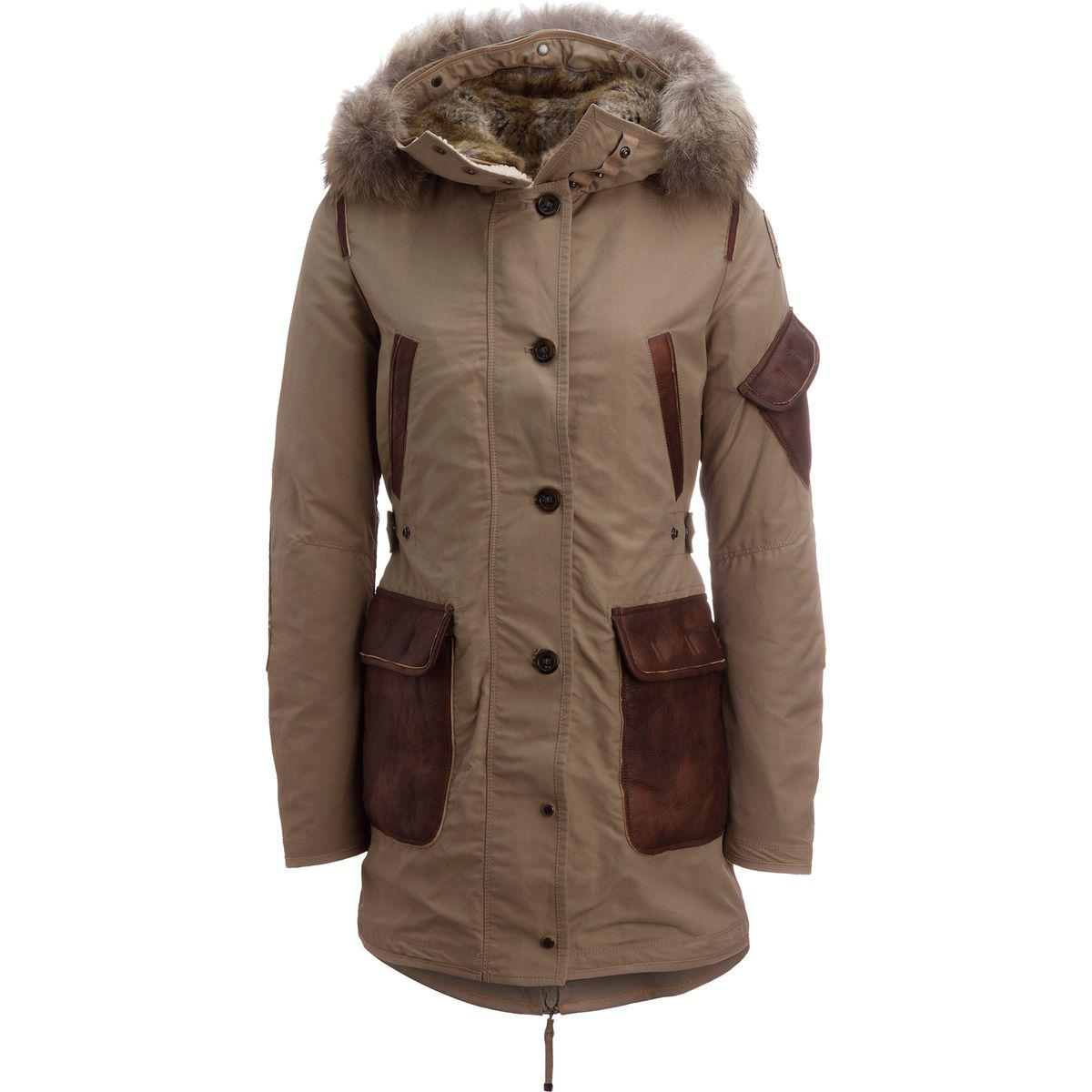 Parajumpers. Women's Brown Nicole Down North West Limited Edition Jacket