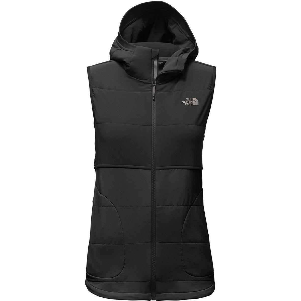 a7e26dd690d6 Lyst - The North Face Mountain Sweatshirt Hooded Vest in Black